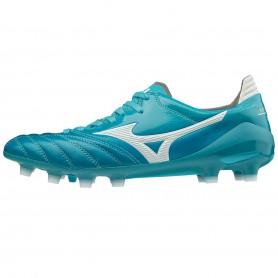 M3655 รองเท้าสตั๊ด รองเท้าฟุตบอล MIZUNO MORELIA NEO II JAPAN -CARIBBEAN SEA/ WHITE/ BLUE ATOLL