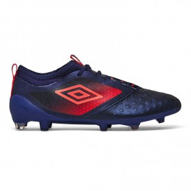 U0434 รองเท้าฟุตบอล รองเท้าสตั๊ด UMBRO UX Accuro II Premier HG - สีม่วง