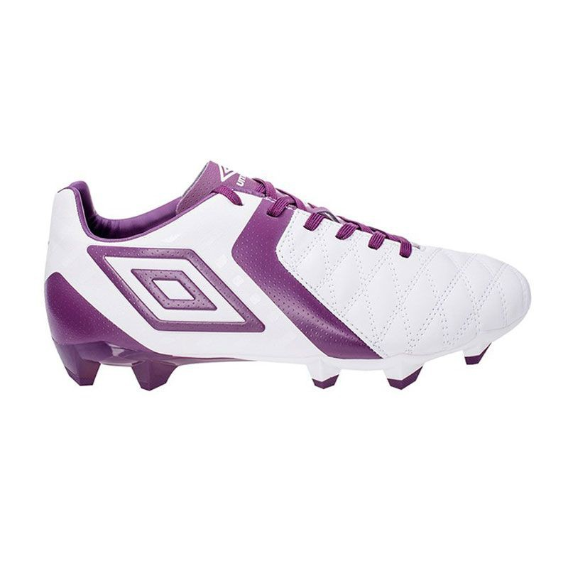 U0444 รองเท้าฟุตบอล รองเท้าสตั๊ด UMBRO Medusae Club HG- White