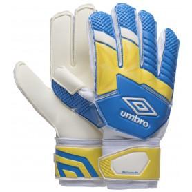 U0337 ถุงมือผู้รักษาประตู UMBRO Neo Pre DPS AW17- สีขาว/เหลือง/ฟ้า