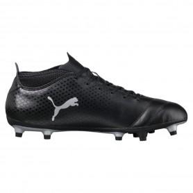 P0460 รองเท้าฟุตบอล รองเท้าสตั๊ด PUMA ONE 17.4 FG -Black/Silver