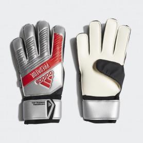 A3821 ถุงมือผู้รักษาประตู ADIDAS Predator Top Training Fingersave Goalkeeper Gloves-Silver Met./Black