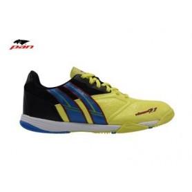 PA0047 รองเท้าฟุตซอล Pan VIGOR 7.1 M - Yellow/Blue (ตัวรอง)