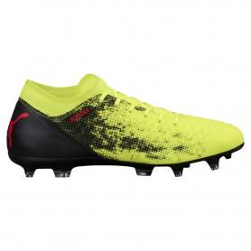 P0490 รองเท้าฟุตบอล รองเท้าสตั๊ด PUMA FUTURE 18.4 FG/AG -Yellow/Red/Black