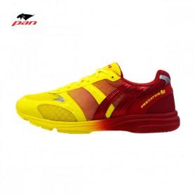 PA3966 รองเท้าวิ่ง Pan PREDATOR ACE-สีเหลือง/แดง