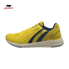 PA3980 รองเท้าวิ่ง Pan RYDER-สีเหลือง/กรม