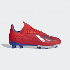 A2621 รองเท้าฟุตบอล รองเท้าสตั๊ดเด็ก ADIDAS X 18.3  JR. FG-Active Red / Silver Metallic / Bold Blue