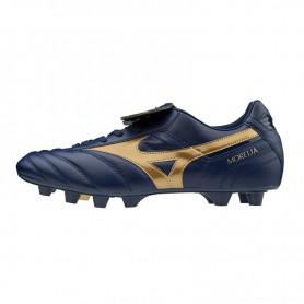 M4002 รองเท้าสตั๊ด รองเท้าฟุตบอล MIZUNO MORELIA II JAPAN -BLUE DEPTHS/ GOLD