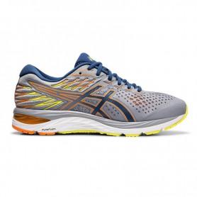 AS1421 รองเท้าวิ่ง asics GEL-KAYANO 25-WHITE/BLUE PRINT