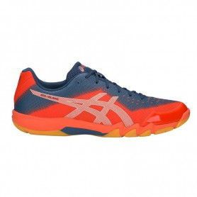 AS1421 รองเท้าวิ่ง asics GEL-KAYANO 25-WHITE/BLUE PRINT