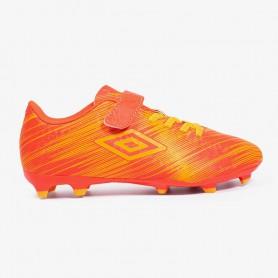 U4056 รองเท้าสตั๊ดเด็ก รองเท้าฟุตบอลเด็ก  UMBRO Veracity FG-Orange