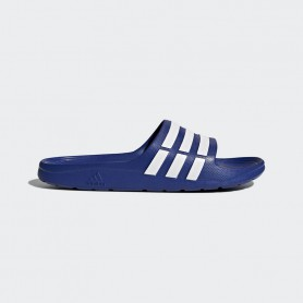A0503 รองเท้า Adidas Duramo Slides-Blue/White