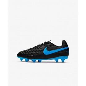 N4071 รองเท้าสตั๊ดเด็ก รองเท้าฟุตบอลเด็ก Nike Jr. Tiempo Legend 8 Club MG-Black/Blue Hero