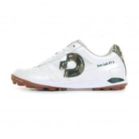 D4079 รองเท้า 100 ปุ่ม สนามหญ้าเทียม Desporte Sao Luis KT2-Pearl white / Camouflage
