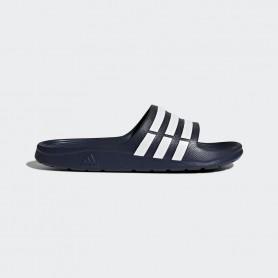 A0506 รองเท้า Adidas Duramo Slides-Navy/White