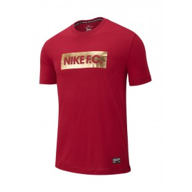 N4149 เสื้อยืดแฟชั่น NIKE F. C. T shirt-NOBLE RED