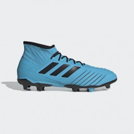 A4160 รองเท้าฟุตบอล รองเท้าสตั๊ด ADIDAS Predator 19.2 FG -Bright Cyan/Core Black/Solar Yellow