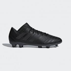 A0515รองเท้าฟุตบอล รองเท้าสตั๊ด ADIDAS Nemeziz 17.3 FG - Black