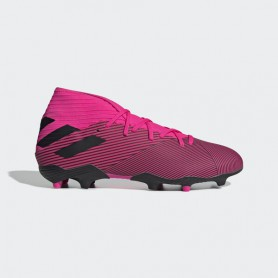 A4173 รองเท้าฟุตบอล รองเท้าสตั๊ด ADIDAS Nemeziz 19.3 FG -Shock Pink/Core Black/Shock Pink
