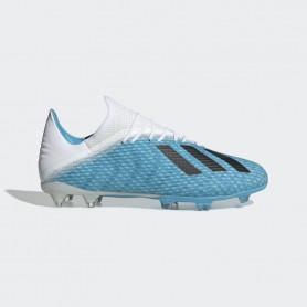 A4176 รองเท้าฟุตบอล รองเท้าสตั๊ด ADIDAS X 19.2 FG -Bright Cyan/Core Black/Shock Pink