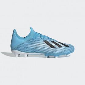 A4177 รองเท้าฟุตบอล รองเท้าสตั๊ด ADIDAS X 19.3 FG-Bright Cyan / Core Black / Shock Pink