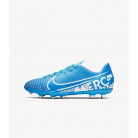 N4193 รองเท้าสตั๊ดเด็ก รองเท้าฟุตบอลเด็ก Nike Jr. Mercurial Vapor 13 Club MG-Blue Hero/Obsidian/White