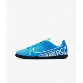 N4198 รองเท้าฟุตซอลเด็ก Nike Jr. Mercurial Vapor 13 Club IC-Blue Hero/Obsidian/White