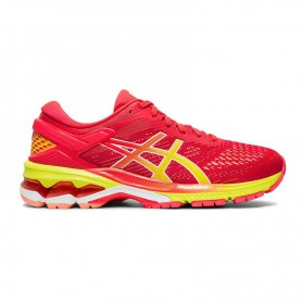 AS4233 รองเท้าวิ่ง ผู้หญิง asics GEL-KAYANO 26-LASER PINK/SOUR YUZU