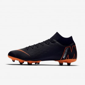 N0524 รองเท้าสตั๊ด รองเท้าฟุตบอล Nike Mercurial Superfly VI Academy MG -Black