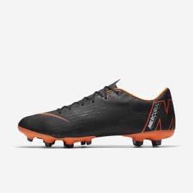 N0525 รองเท้าสตั๊ด รองเท้าฟุตบอล Nike Mercurial Vapor XII Academy MG -BLACK