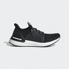 A4297 รองเท้าวิ่ง ผู้หญิง adidas Ultraboost 19-Core Black/Grey/Solar Orange