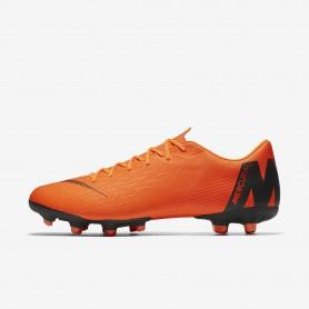 N0520 รองเท้าสตั๊ด รองเท้าฟุตบอล Nike Mercurial Vapor XII Academy MG -TOTAL ORANGE/BLACK