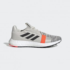 A4325 Women Running adidas Senseboost Go-Cloud White/Grey One/Core Black