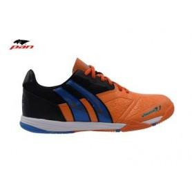 PA0052 รองเท้าฟุตซอล Pan VIGOR 7.1 M - Orange/Black (ตัวรอง)