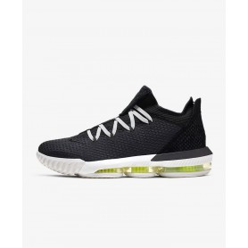 N4359 Men's Basketball Shoes Nike LeBron 16 Low-lack/Summit White/Volt/Black