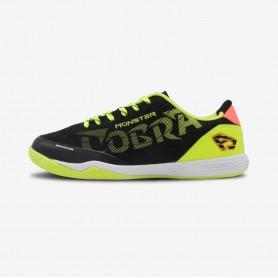B4382 รองเท้าฟุตซอล Breaker Cobra Monster/ สีดำ-เหลือง