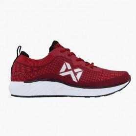 W0541 รองเท้าฟุตซอล Warix Maximum Speedy - สีแดง/ดำ
