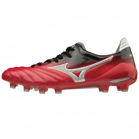 M4410 รองเท้าสตั๊ด รองเท้าฟุตบอล MIZUNO MORELIA NEO II JAPAN -CHINESE RED/SILVER/BLACK