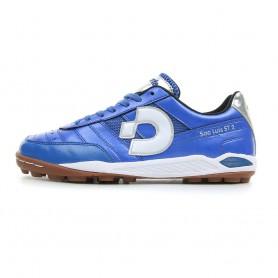 D0537 รองเท้า 100 ปุ่ม สนามหญ้าเทียม Desporte Sao Luis ST2 -สีน้ำเงิน