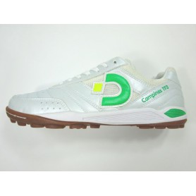 D0539 รองเท้า 100 ปุ่ม สนามหญ้าเทียม Desporte CAMPINAS TFⅢ -สีขาว