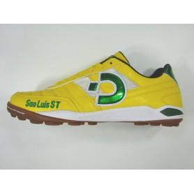 D0539 รองเท้า 100 ปุ่ม สนามหญ้าเทียม Desporte Sao Luis ST -สีเหลือง
