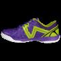W0543 รองเท้าฟุตซอล Warix Maximum Speedy - สีม่วง/เขียว