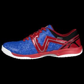 W0544 รองเท้าฟุตซอล Warix Maximum Speedy - สีน้ำเงิน/แดง