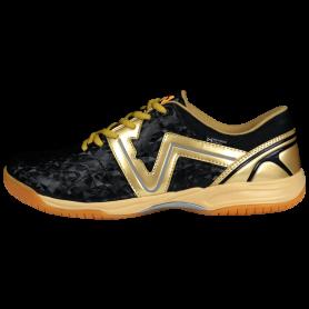 W0545 รองเท้าฟุตซอล Warix Maximum Speedy - สีดำ/ทอง
