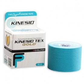 "K0549 ผ้าเทป Kinesio Tex Gold FP – 2"" Blue 5 M. (รุ่นยกผิวแบบพิเศษ)"