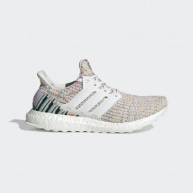 A4449 adidas Ultraboost-Crystal White/Crystal White/Glow Green