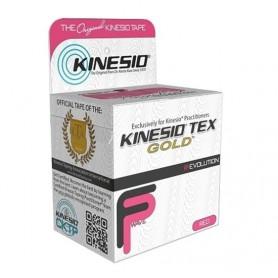 "K0550 ผ้าเทป Kinesio Tex Gold FP – 2"" Red 5 M. (รุ่นยกผิวแบบพิเศษ)"