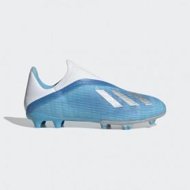 A4455 รองเท้าฟุตบอล รองเท้าสตั๊ด ADIDAS X 19.3 LL FG-Bright Cyan/Core Black/Shock Pink