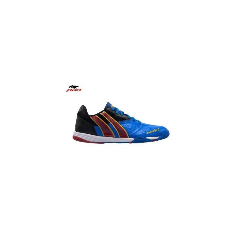 PA0053 รองเท้าฟุตซอล Pan VIGOR 7.1 M - Blue/Red (ตัวรอง)