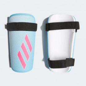 A4482 สนับแข้ง Adidas X Lite Shin Guard-Bright Cyan/Shock Pink/White